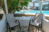 Double room by the pool | Lilly's Island Antiparos