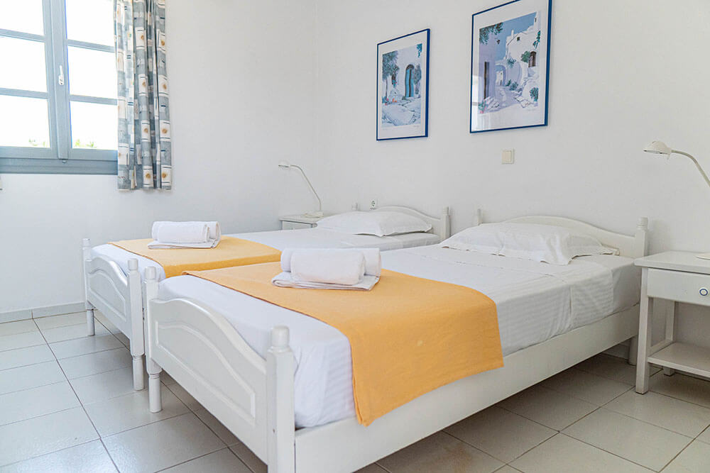 Double rooms | Lilly's Island Antiparos